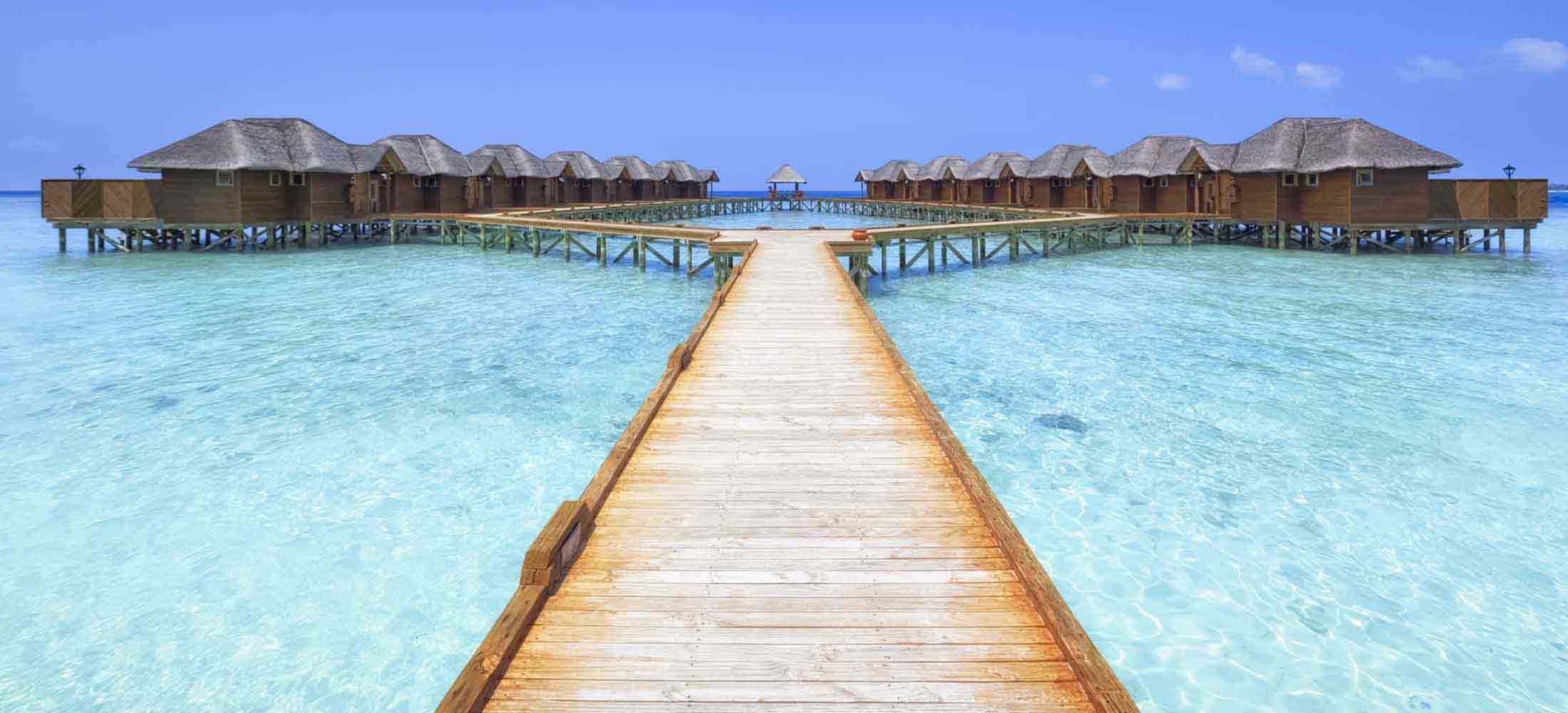 Overwater Bungalows Boardwalk